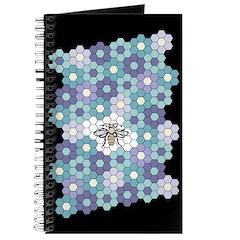 Honeybee Flowers Lavender Journal