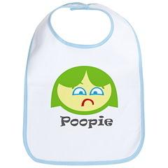 Poopie Girl Bib