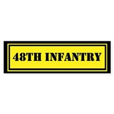 48th Infantry Car Sticker