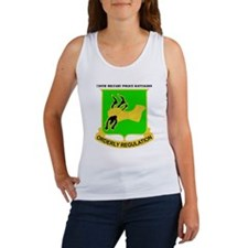 DUI - 720th Military Police Bn with Text Women's T