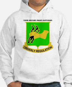 DUI - 720th Military Police Bn with Text Hoodie