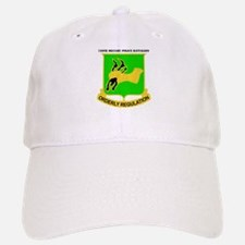 DUI - 720th Military Police Bn with Text Baseball Baseball Cap