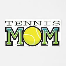 Tennis Mom Aluminum License Plate