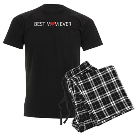 Best Mom Ever Men's Dark Pajamas