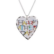 Happy Father's Day Necklace