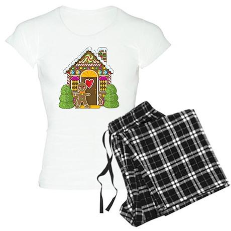 Gingerbread House Women's Light Pajamas