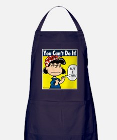 Lucy the Riveter Apron (dark)