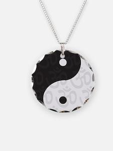 Ying Yang Yoga Necklace