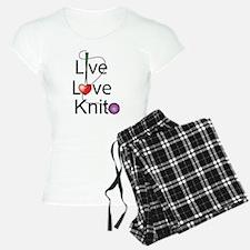 Live Love KNIT Pajamas