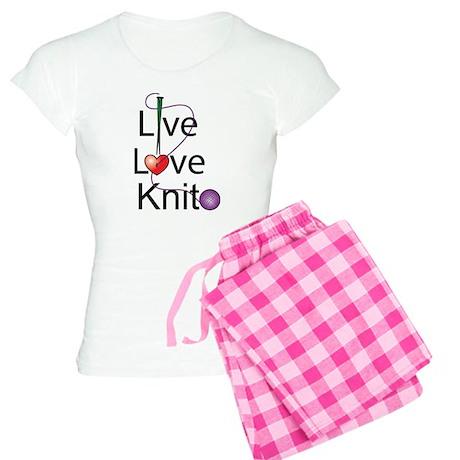 Live Love KNIT Women's Light Pajamas
