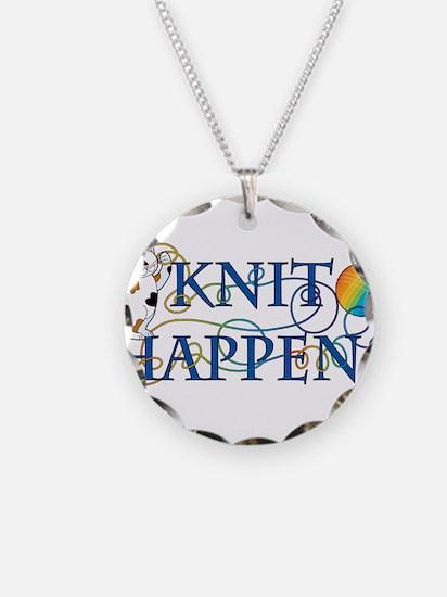 Knit Happens Necklace