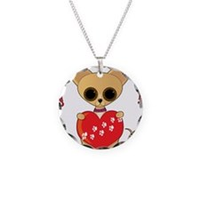 Chihuahua Valentine Necklace
