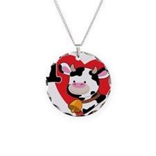 I Love Cows Necklace