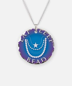 Eat Sleep Bead Necklace