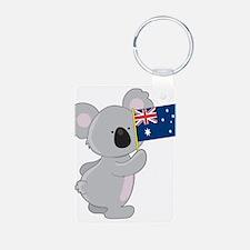 Koala Australian Flag Keychains