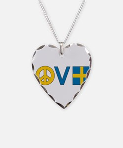 Love Peace Sweden Necklace