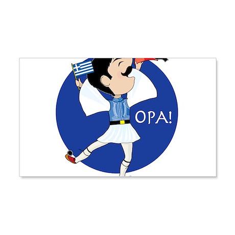 OPA! 22x14 Wall Peel