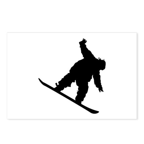 Snowboarding Postcards (Package of 8)