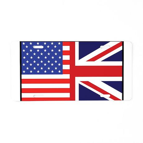 USA/Britain Aluminum License Plate