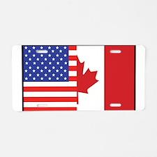 USA/Canada Aluminum License Plate