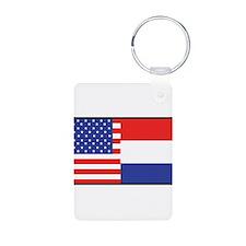 USA/Holland Keychains