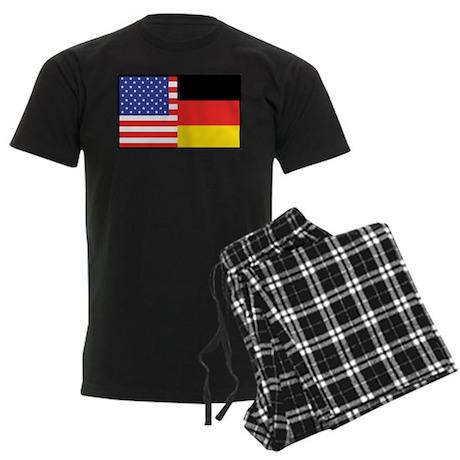 USA/Germany Men's Dark Pajamas