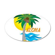 Aloha 22x14 Oval Wall Peel