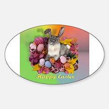 Unique Jpg Sticker (Oval)
