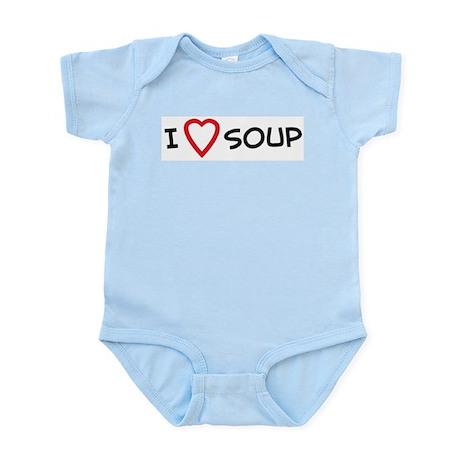 I Love Soup Infant Creeper