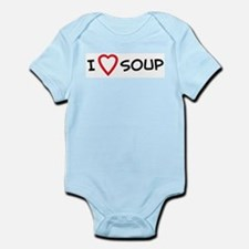 I Love Soup Infant Creeper