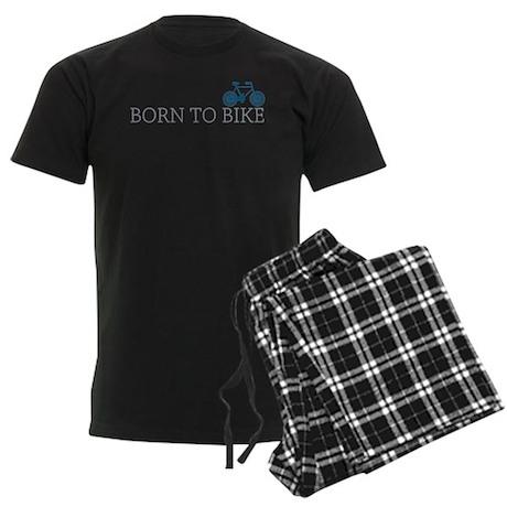 Born to Bike Men's Dark Pajamas