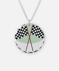 Racing Flags Necklace