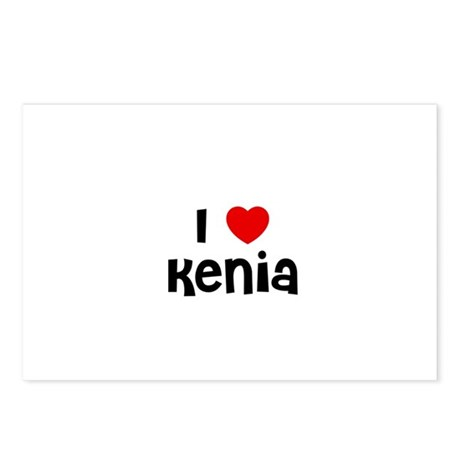 I * Kenia Postcards (Package of 8)