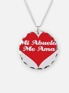 Grandma Loves Me (Spanish) Necklace