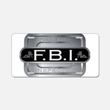 Female Body Inspector Aluminum License Plate