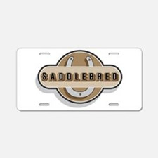 American Saddlebred Horse Aluminum License Plate