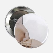 """Holding a Child Hand 2.25"""" Button"""