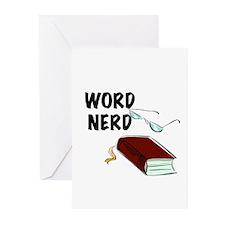Word Nerd Greeting Cards (Pk of 10)