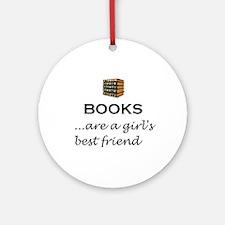Girl's Best Friend (alt) Ornament (Round)