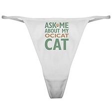 Ocicat Cat Classic Thong