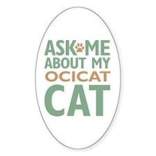Ocicat Cat Decal