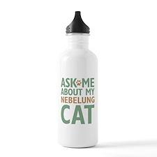 Nebelung Cat Water Bottle