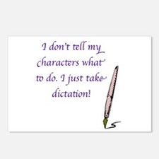 Character Dictation Postcards (Package of 8)