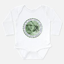 St. Urho Seal Long Sleeve Infant Bodysuit