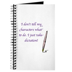 Character Dictation Journal