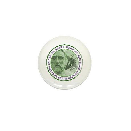 St. Urho Seal Mini Button
