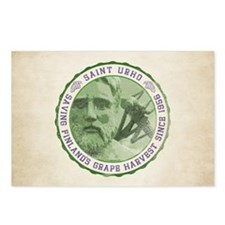 St. Urho Seal Postcards (Package of 8)