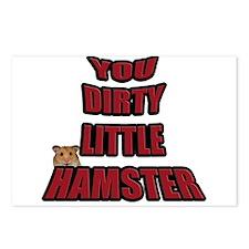 AMR Designs Dirty Hamster Postcards (Package of 8)