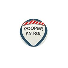 Pooper Patrol Mini Button
