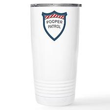 Pooper Patrol Travel Coffee Mug